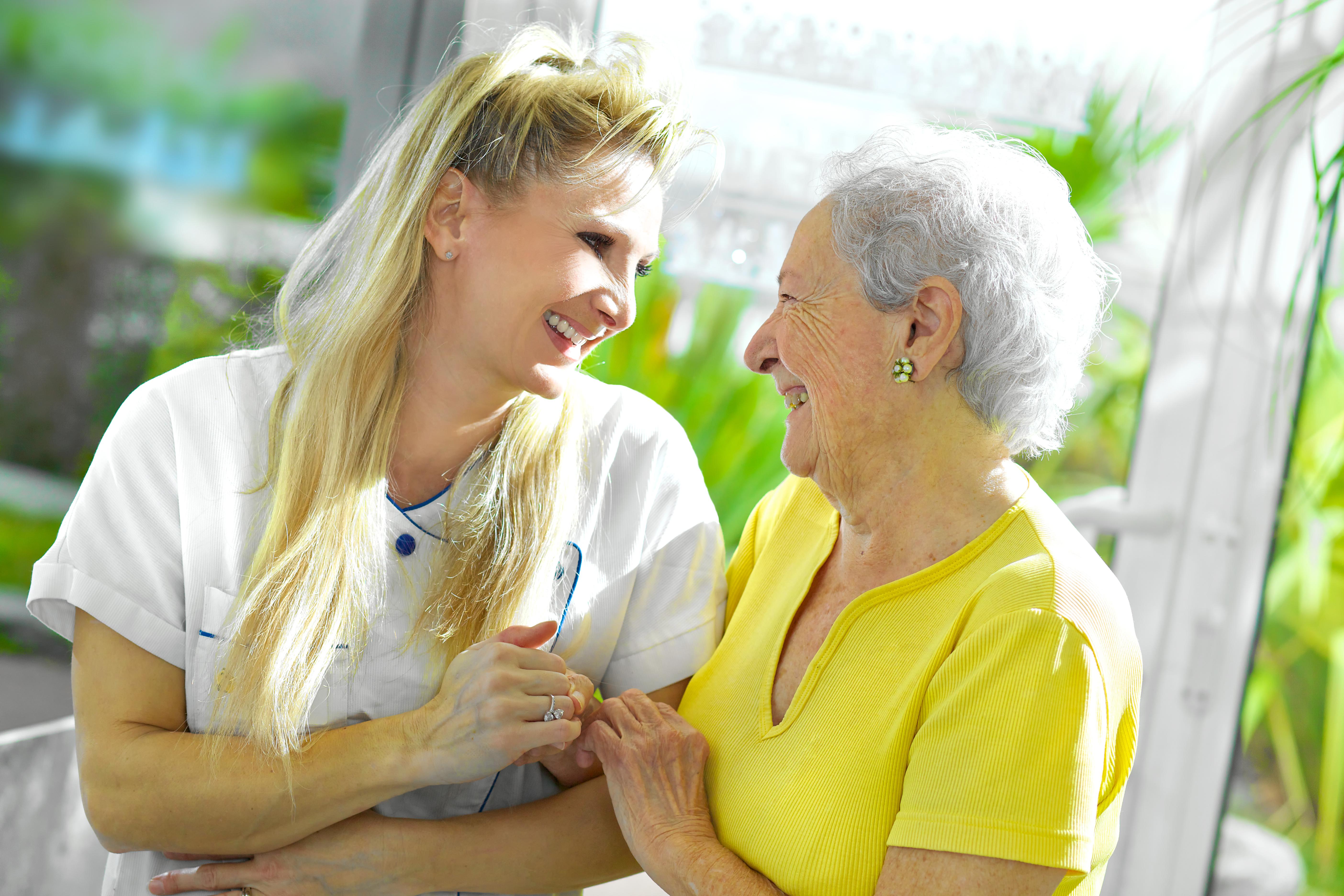 Placer une personne âgée