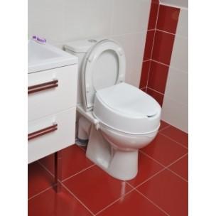 Un rehausseur WC facilitera l'assise et le lever d'une personne âgée