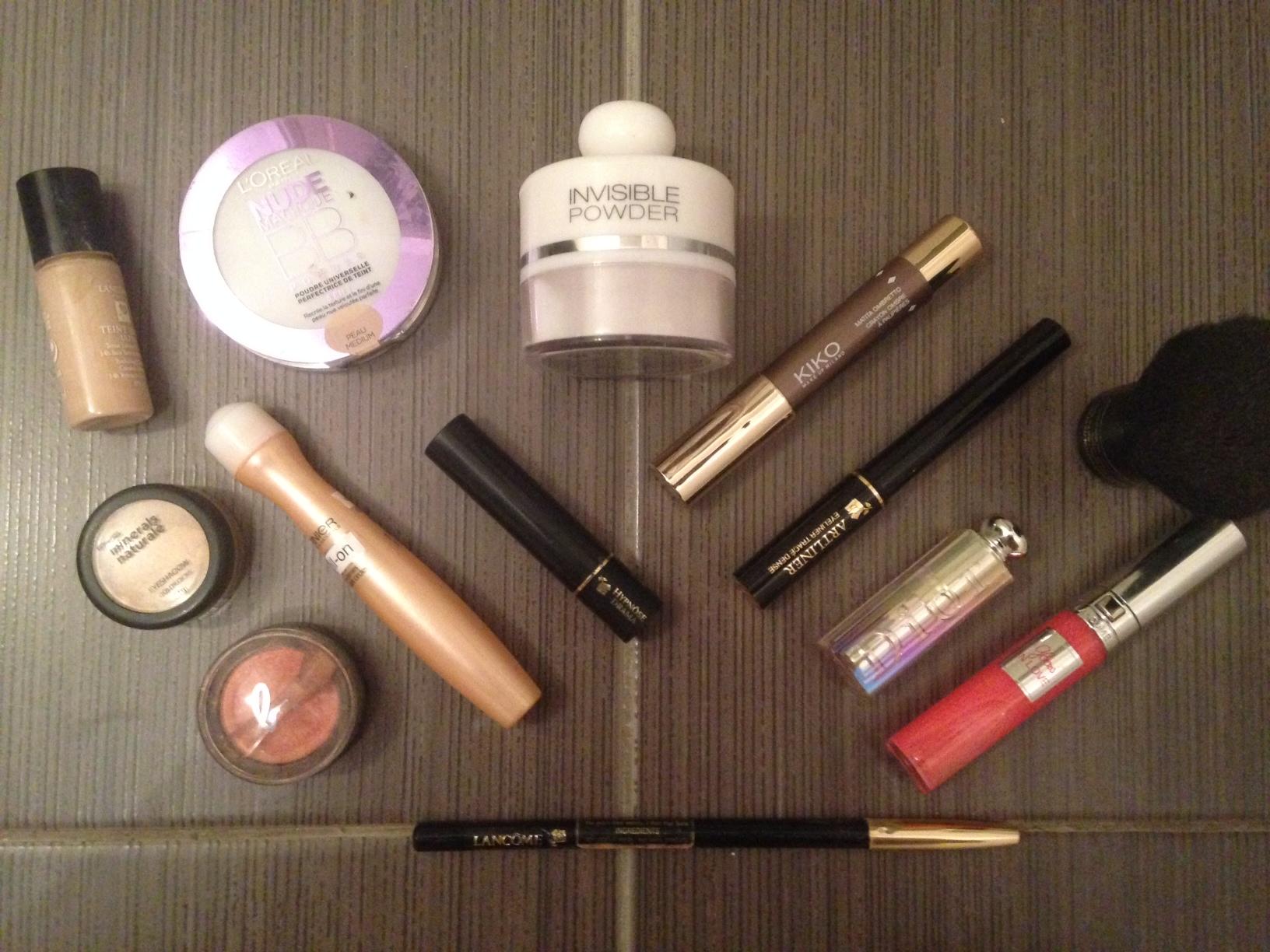 Trousse à maquillage : les indispensables !