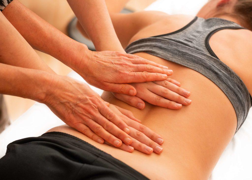 massage de dos